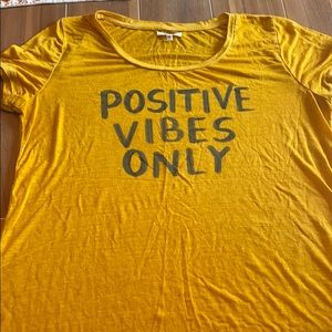 Maurice's Positive Vibes Only Graphic Tee